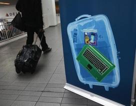Tình báo Mỹ cảnh báo nguy cơ khủng bố giấu chất nổ trong pin máy tính