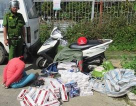 Báo động tình trạng vận chuyển thuốc lá nhập lậu gây mất trật tự xã hội nghiêm trọng