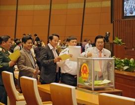 Lấy phiếu tín nhiệm lãnh đạo Quốc hội, Chính phủ trong năm 2018