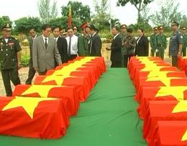 Truy điệu hơn 100 hài cốt liệt sĩ hy sinh tại Campuchia