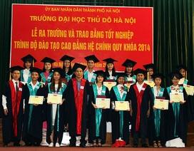 ĐH Thủ đô Hà Nội: Đào tạo theo định hướng nghề nghiệp ứng dụng POHE