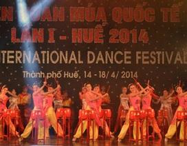 Liên hoan Múa quốc tế 2017 diễn ra tại Việt Nam
