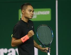 Linh Giang thua đáng tiếc trong ngày khai mạc giải quần vợt Việt Nam mở rộng