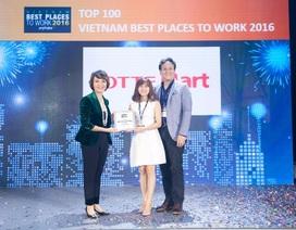 LOTTE Mart là một trong 100 nơi làm việc tốt nhất Việt Nam 2016