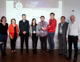 Du học sinh Việt giành giải Nhất cuộc thi Hackathon Logistique tại Pháp