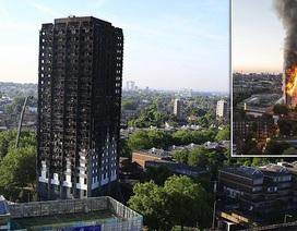 Nhiều người vẫn mất tích sau vụ cháy tháp 24 tầng ở London