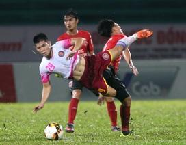 Hoà Sài Gòn FC, Long An ở sát với giải hạng dưới