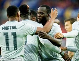 Valerenga 0-3 Man Utd: Lukaku lại ghi bàn