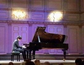 Lưu Đức Anh đoạt giải Nhất cuộc thi piano tại Thuỵ Điển