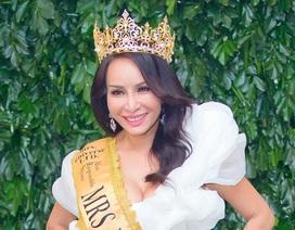 Hoa hậu Lưu Hoàng Trâm muốn đưa Mrs Universe 2018 về Việt Nam