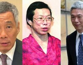 Thủ tướng Lý Hiển Long nghi ngờ về di chúc cuối cùng của cha Lý Quang Diệu