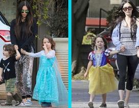 Cậu nhóc dễ thương của Megan Fox thường xuyên mặc váy!