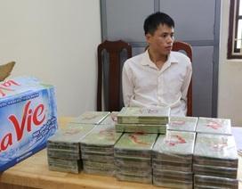 Vận chuyển 42 bánh heroin lấy 100 triệu đồng tiền công