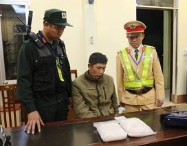 Liên tiếp bắt giữ 2 vụ vận chuyển ma túy đá