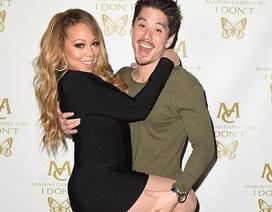"""Mariah Carey tình tứ bên """"phi công trẻ"""""""
