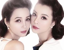 """Mai Thu Huyền khoe chị gái """"cựu người mẫu"""" gợi cảm như chị em song sinh"""