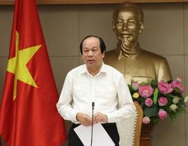 13 Bộ trưởng, Chủ tịch tỉnh bị Thủ tướng phê bình