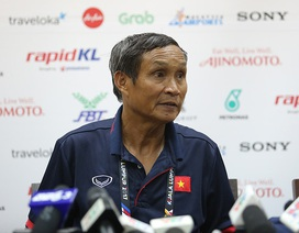 HLV Mai Đức Chung lên tiếng về quyết định triệu tập Phí Minh Long