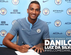 Man City chiêu mộ xong hậu vệ Danilo từ Real Madrid