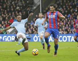 Crystal Palace 0-0 Man City: Đứt mạch toàn thắng