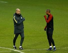 Man City thoải mái trong buổi tập cuối trước trận gặp Monaco