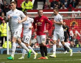 MU lập kỷ lục sau trận hòa thất vọng trước Swansea