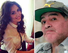 Nữ phóng viên gợi cảm tố huyền thoại Maradona quấy rối tình dục