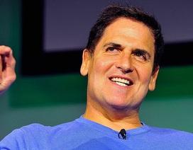 """Tỷ phú Mark Cuban: """"Thừa tiền mới đầu tư vào bitcoin"""""""