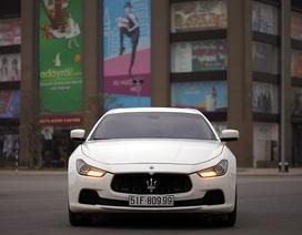 Giá từ 4,5 tỉ đồng cho xe thể thao hạng sang Maserati Ghibli