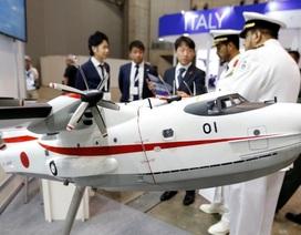 Tấp nập triển lãm vũ khí quốc tế tại Nhật Bản