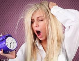 Khi thiếu ngủ gây ra trầm cảm và lo âu...
