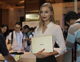 CES Asia 2017: Trên tay Huawei Matebook X giống hệt MacBook