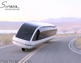 Công bố ý tưởng mẫu xe bus một dãy bánh siêu dị