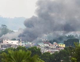 Nổ lớn rung chuyển thành phố của Philippines bị phiến quân chiếm đóng