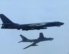 6 máy bay ném bom của Trung Quốc áp sát không phận Nhật Bản