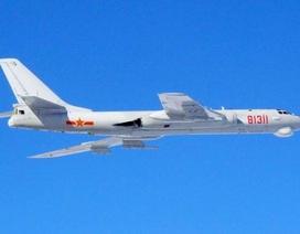 Trung Quốc đưa hàng loạt máy bay ném bom tới gần Nhật Bản
