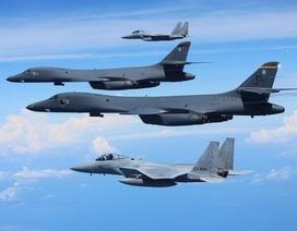 230 máy bay chiến đấu Mỹ-Hàn sắp tập trận gần Triều Tiên