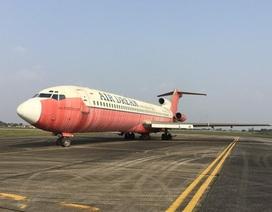 """""""Thân phận"""" hẩm hiu của chiếc Boeing bị bỏ rơi tại Nội Bài"""