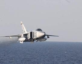 Máy bay chiến đấu Nga áp sát máy bay trinh sát Mỹ ở Biển Đen