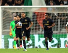 Mbappe lập công, Monaco vẫn thúc thủ trước Juventus