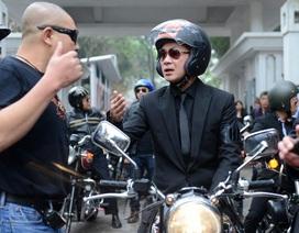 Diễu hành đội motor trước liveshow tưởng nhớ ca sĩ Trần Lập