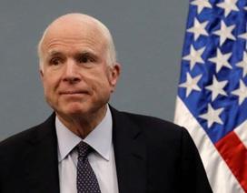 Thượng nghị sĩ John McCain bị chẩn đoán có khối u não