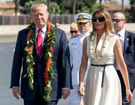 Đệ nhất phu nhân Melania Trump gây ấn tượng với gu thời trang ngoại giao