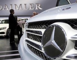 Mercedes-Benz triệu hồi 3 triệu xe tại châu Âu