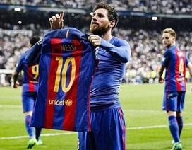 Lập cột mốc đặc biệt, Messi ăn mừng chọc tức CĐV Real Madrid