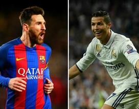 """Trước thềm Siêu kinh điển: Messi """"đứt gánh"""", C.Ronaldo """"lao vun vút"""""""