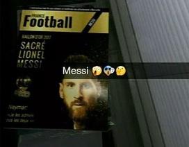 """Tranh cãi về """"bằng chứng"""" Messi sẽ giành Quả bóng vàng 2017?"""