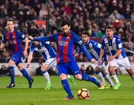 """Vì sao Messi không ăn mừng bàn thắng """"vàng"""" ở trận Leganes?"""