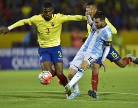 """Messi đang thực sự bị """"vắt kiệt sức"""""""