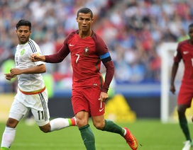 C.Ronaldo chơi ấn tượng, Bồ Đào Nha vẫn bị Mexico cầm hòa